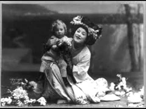"""Louise Homer And Geraldine Farrar Sing """"Tutti I Fior,"""" From Madama Butterfly   1908"""