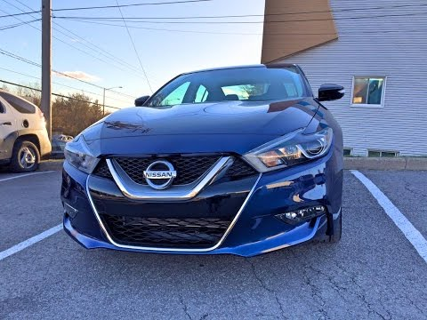 Nissan Maxima SR 2016 - Full review, 0-60mph, interior, exterior and test!