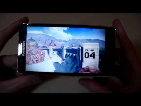 Как идут тяжелые игры на Lenovo A536 (RealRacing3, Asphalt8, DeadTrigger2) (HD)
