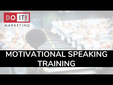 motivational speaker training