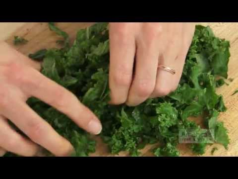 Super Quick Video Tips: Massage Raw Kale for Tender Greens