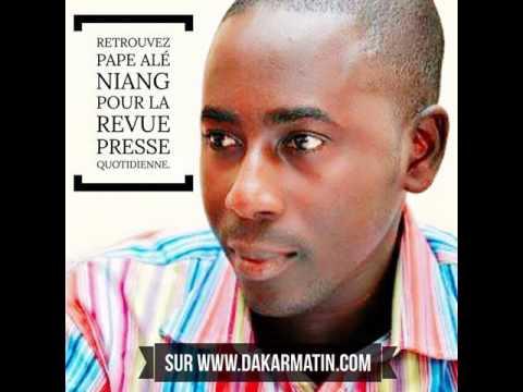 Ecoutez la revue de presse de Pape Alé Niang du 11 novembre 2016 - Dakar Matin