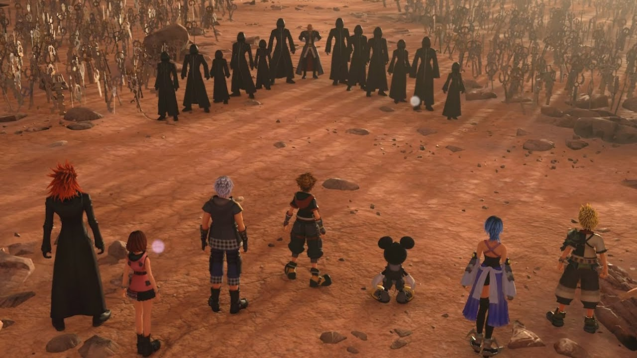 7 Guardians of Light x 13 Seekers of Darkness - Kingdom Hearts 3 ...