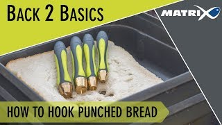 *** Coarse & Match Fishing TV *** How to hook punched bread