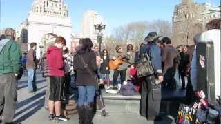 Washington Square Park Jam 3/9/13