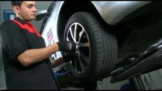 видео Комплекс работ по обслуживанию задних барабанных тормозов для Hyundai и Kia