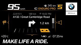 BMW Motorrad Connectivity – How To – Navigation