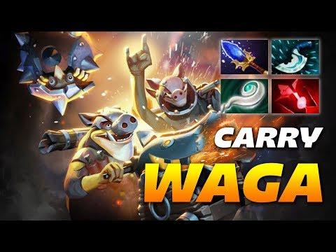 Wagamama Techies Pro Gameplay [Offlane] Dota 2