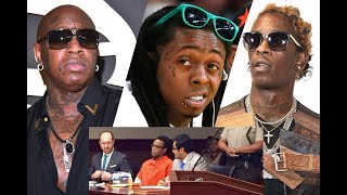 Bus Driver in Lil Wayne Tour Bus Shooting claims Birdman & Young Thug made secret deals w/ POLICE!