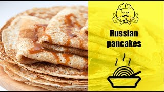 How to make Russian pancakes!