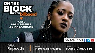 On The Block with Billboard ft. Rapsody