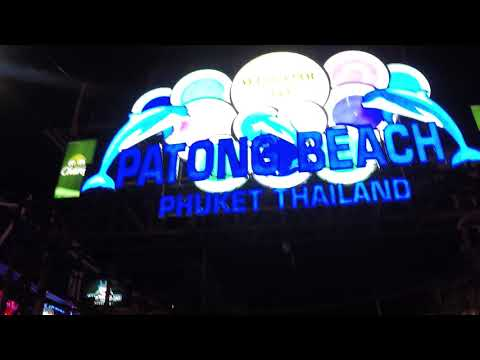Night Walking Tour Bangla Road / Phuket Walking Street, Patong, Phuket Thailand