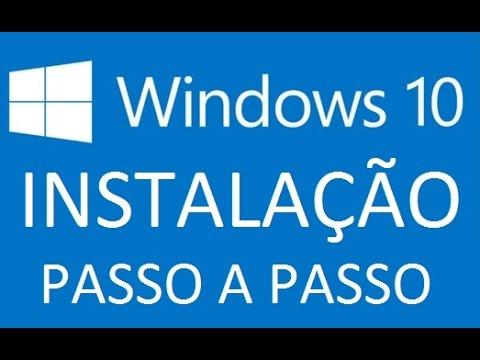 Como instalar o windows 10 passo a passo tutorial (mesmo sem notificação) MauNeto