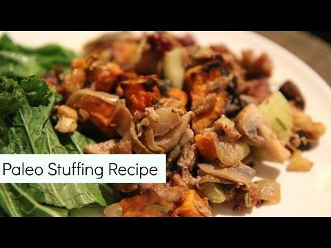 Healthy Thanksgiving Recipe: Paleo & Gluten Free Stuffing Recipe