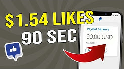 Get Paid to LIKE Videos ($1.54 EVERY 90 Sec) | FREE Make Money Online