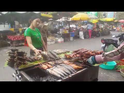 Cambodian Street Food 2019 - Amazing Foods Selling In Phnom Penh