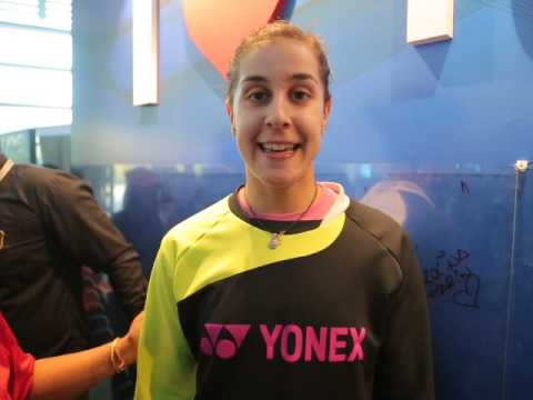 Carolina Marin - Interview at Yonex Sunrise India Open 2017