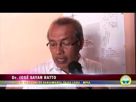 PREDIOS DE CINCO INSTITUCIONES EDUCATIVAS DEL SECTOR RURAL Y DOS AA.HH. SERÁN TITULADOS