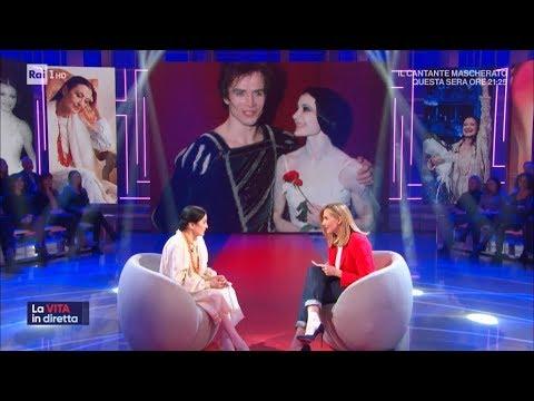 Carla Fracci una vita sulle punte - La vita in diretta 17/01/2020