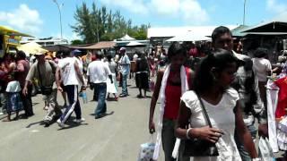 Maurtitius / ile Maurice: Mahebourg: Market (2007)