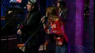 Jenny Lewis & Elvis Costello@Letterman
