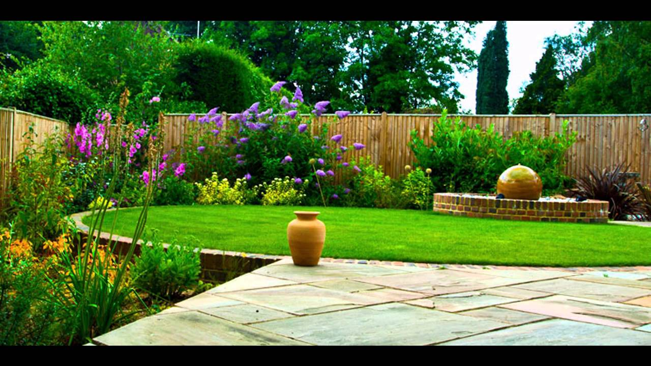 Garden Ideas Landscape and garden design Pictures Gallery YouTube