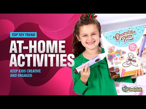 Toy Insider Top Toy Trend 2020: At Home Activities