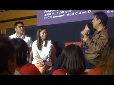 Interview with Bro. Bo and Sis Marowe Sanchez - Singles GiG #LoveGoals - February 21, 2016