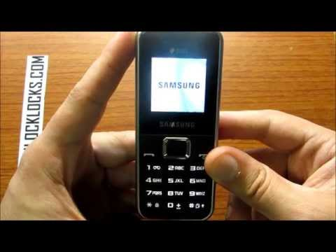 How To Unlock Samsung DUOS GT-E1182 By Unlock Code From UnlockLocks.COM