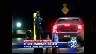 Shooting at Quantico Marine Base Leaves 3 Dead, Including Suspect