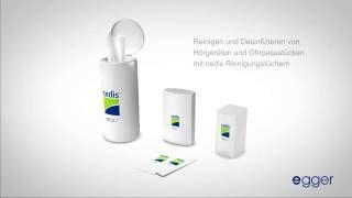 Produktvideo zu Cedis Reinigungstücher (90 Stück)