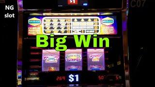 Smokin Sevens Deluxe Slot Machine NICE WIN !!!! Live Play & Big Win