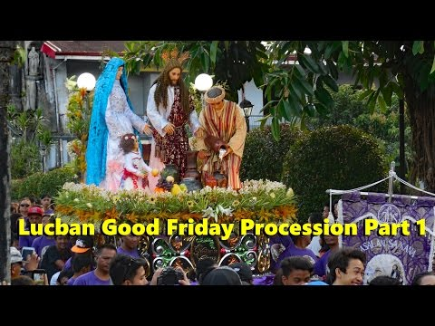 Lucban Good Friday Procession Part 1