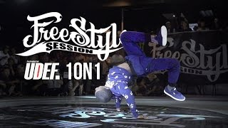 Freestyle Session 1on1 2015 Bboy Battle | UDEF x Silverback x YAK