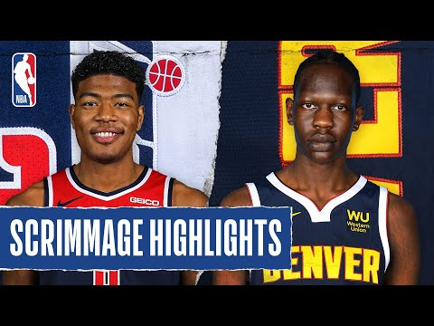 WIZARDS at NUGGETS | SCRIMMAGE HIGHLIGHTS | July 22, 2020