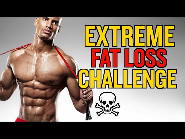 HOW TO GET SHREDDED IN 5 DAYS (EXTREME FAT LOSS CHALLENGE)