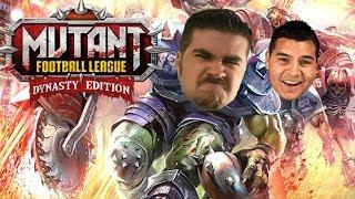 AngryJoe Plays Mutant League Football: Dynasty Edition!