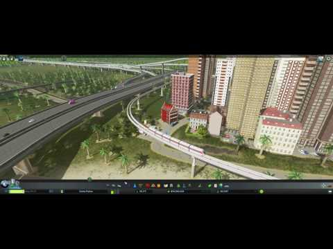Monorail Phase 1 Downtown transport hub to Airport