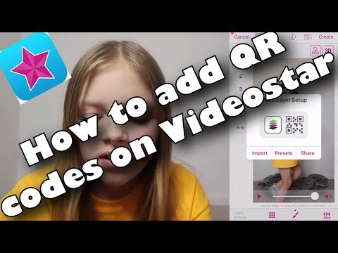 How to use QR codes on Videostar