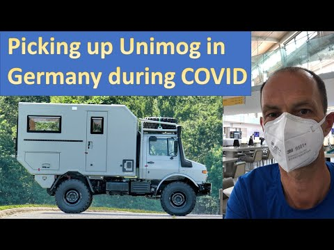 Shipping Unimog from Germany to USA during COVID-19 Pandemic