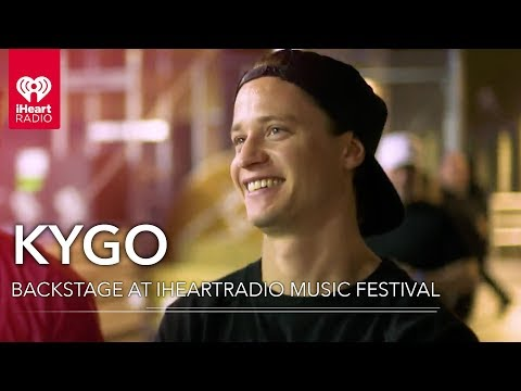 Kygo Backstage From His Performance at the 2018 iHeartRadio  Festival on the Honda Stage