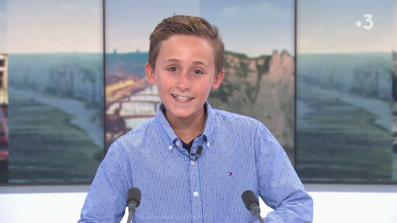 Download Le journal de Louan, 13 ans, sur le plateau de France 3 Normandie
