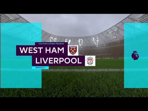 FIFA 18 | Premier League | West Ham v Liverpool | London Stadium