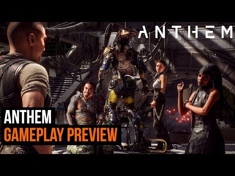 Anthem Gameplay Preview - NEW footage!