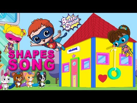 Shape Up | Shape Song | Bottle Squad | Cartoon Videos And Songs For Children