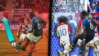 REPRODUIRE LES BUTS DE LA FINALE DE LA CDM 2018 SUR FIFA !