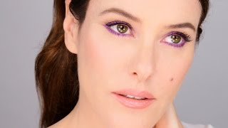Balance Bright Colour With a Gorgeous Nude Make-Up Look - Fresh Modern Easy!