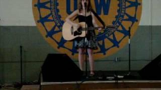 "Rachael Gray Sings ""Let the Teardrops Fall"""