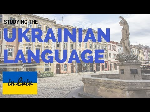 Studying the Ukrainian Language in Lviv