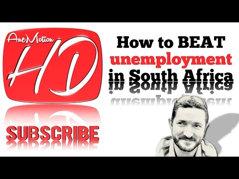 How to BEAT unemployment in South Africa